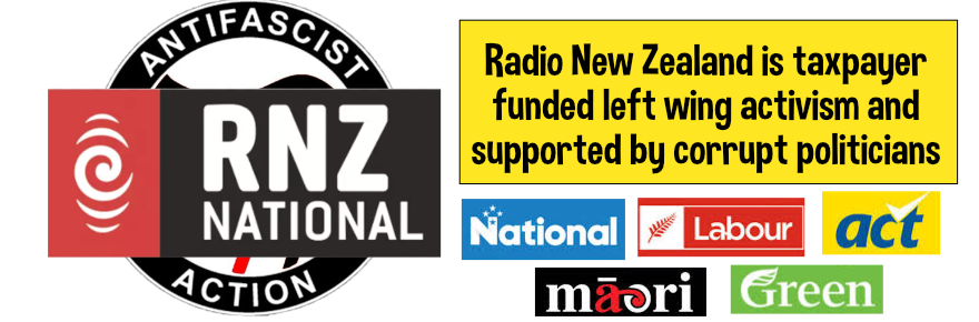 Politicised Radio New Zealand hiding the truth