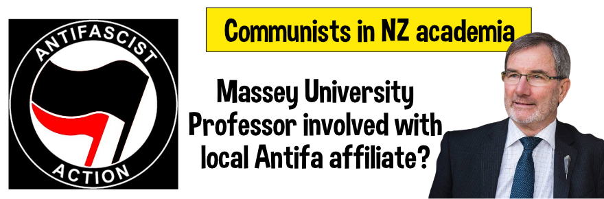 Is this the NZ academic that has connections with NZ Antifa affiliate?