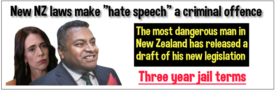 New hate speech laws yet another example of Ardern's tyranny