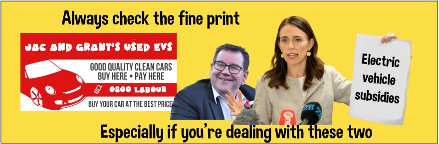 Govt electric car rebates- the devil is in the fine print