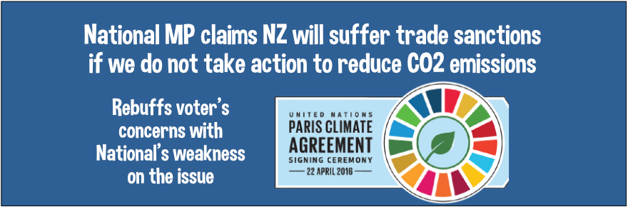 Global thuggery ensures NZ's compliance with climate change scam